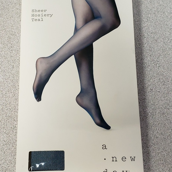 54620eadd Women s Teal Tulle Tights. NWT. a new day